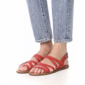 Madewell Boardwalk Multistrap Sandal!